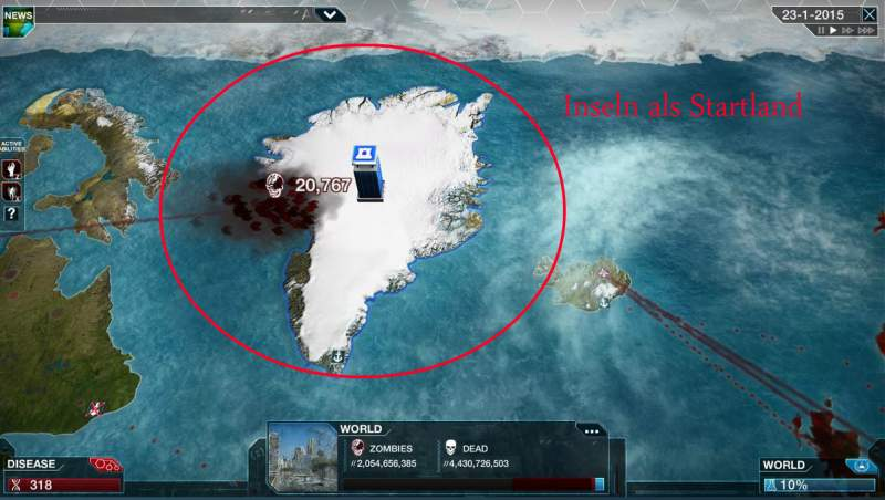 Plague Inc. Cheats Home Country