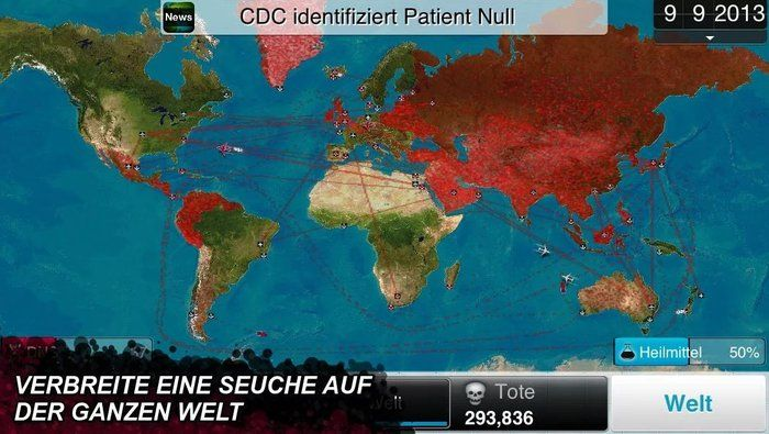 Plague Inc. Download dissemination