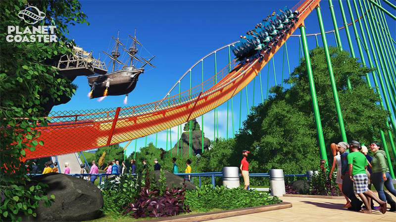 Planet Coaster Download roller coaster