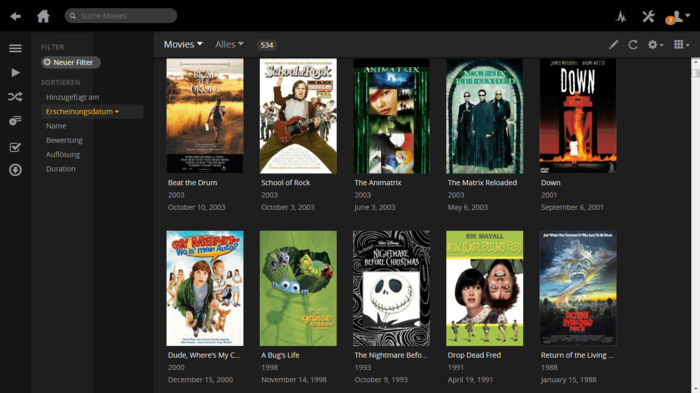Plex Media Server Download Collections