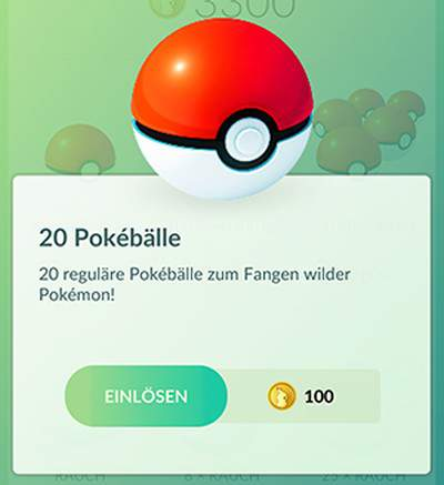 Pokémon GO kost Shop