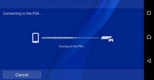 PS4 conectar a distancia Android PS4
