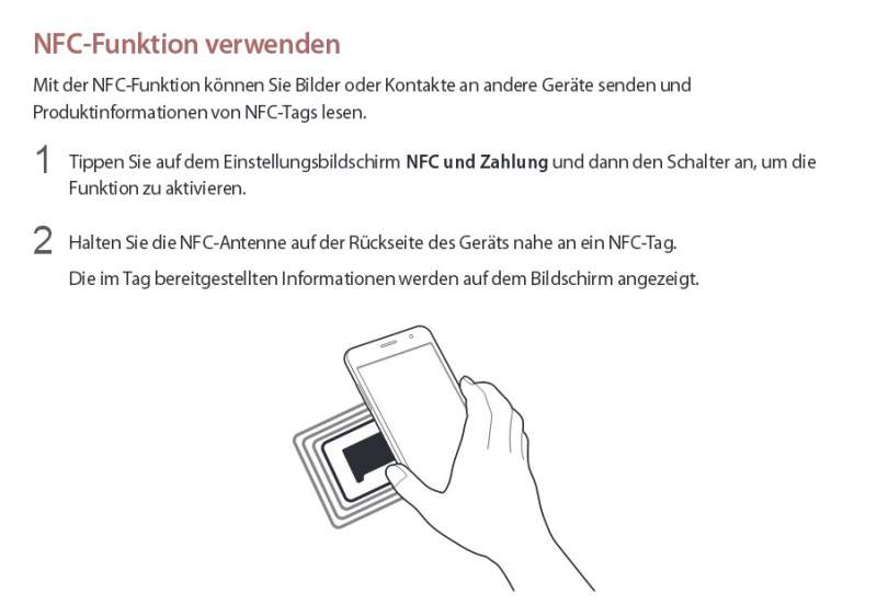 Samsung Galaxy J3 Manual Download NFC
