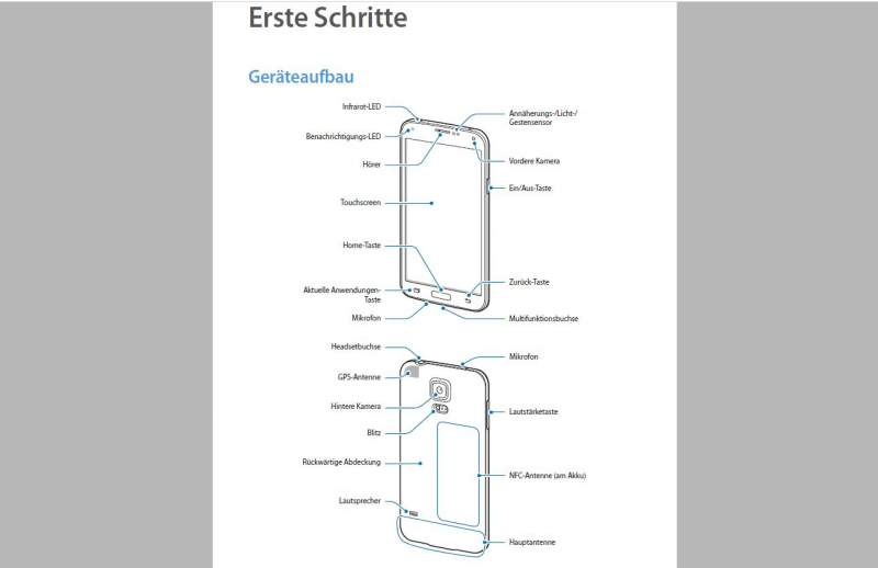 Samsung Galaxy S5 Manuale Scarica Tips