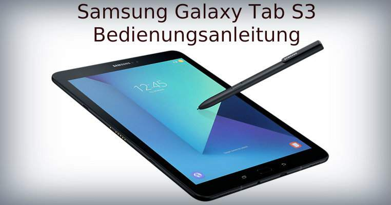 Galaxy Tab S3 manual de usuario descargar