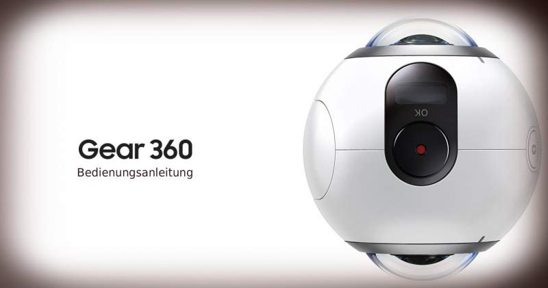 Samsung Gear 360 download manuale