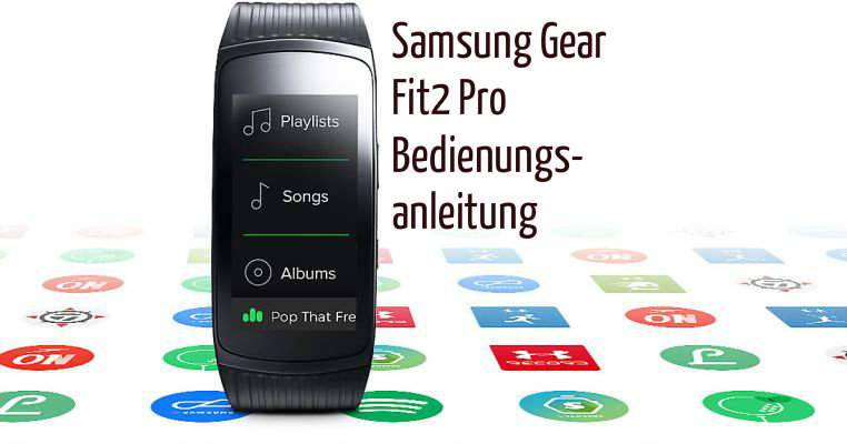 Samsung Gear 2 Fit Pro Manual Descargar