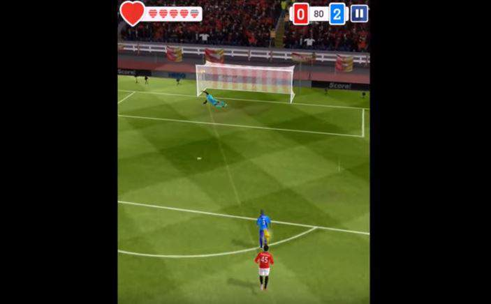Score! Hero Cheats shooting position