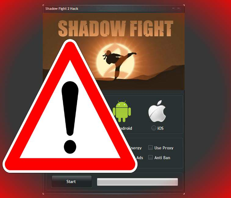 Shadow Fight 2 Hack caution