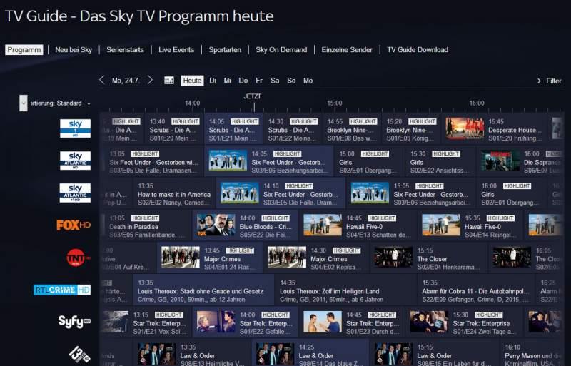 Sky Fernsehprogramm Sport