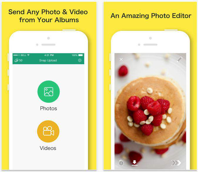 save Snapchat photos Snapbox