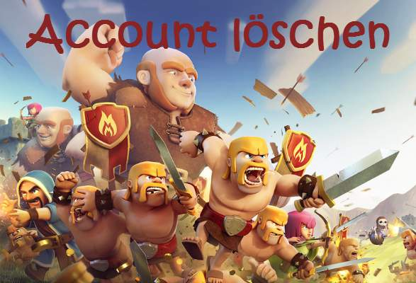Clash of Clans Delete Account