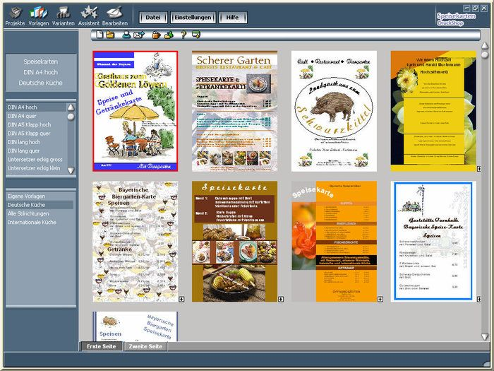 Menus print shop Download