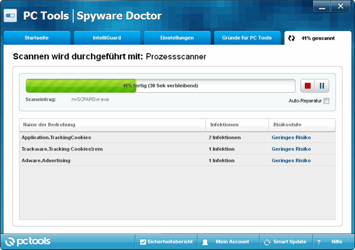 Download Spyware Doctor scan