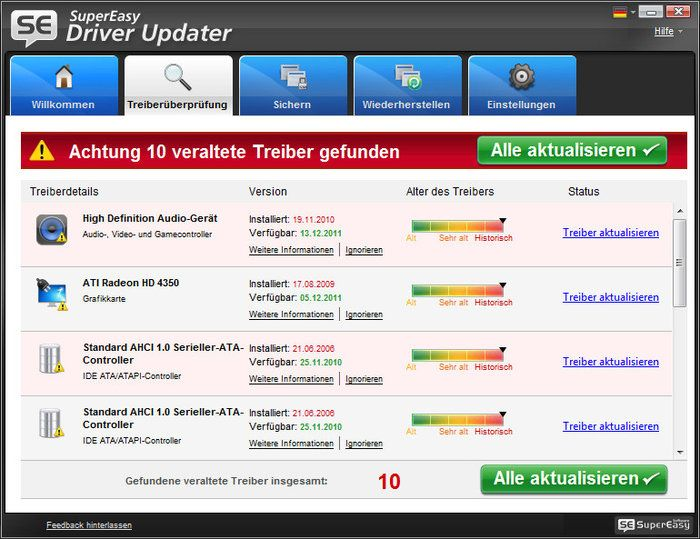 Super Easy Driver Updater Download Aggiornamento