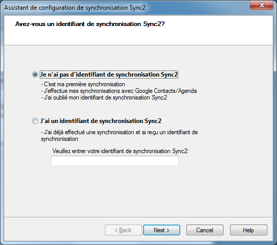 Sync2 for Outlook Download Verification