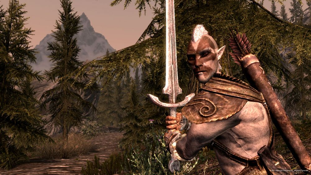 The Elder Scrolls V: Skyrim download de raças