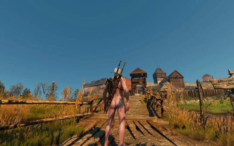 The Witcher 3: Naakt Mod Download
