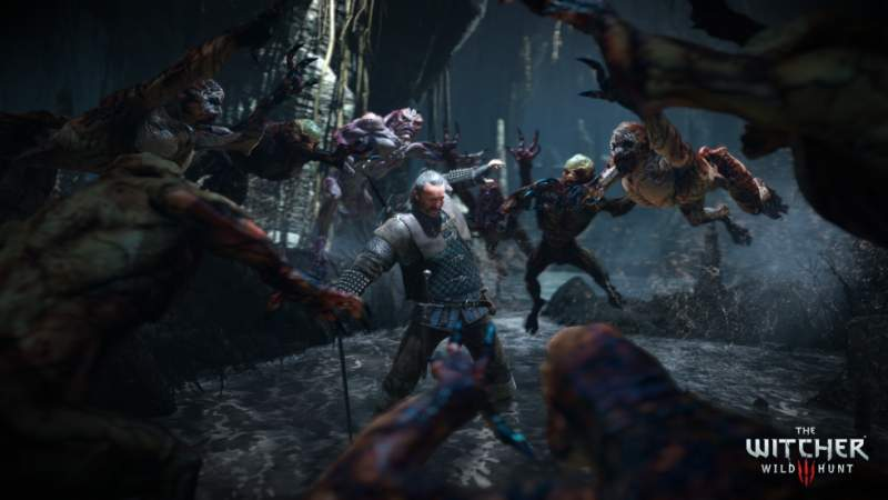 The Witcher 3: Caccia Selvaggia attività di download