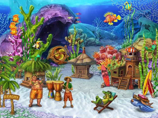 fun aquarium 3d Screensaver3