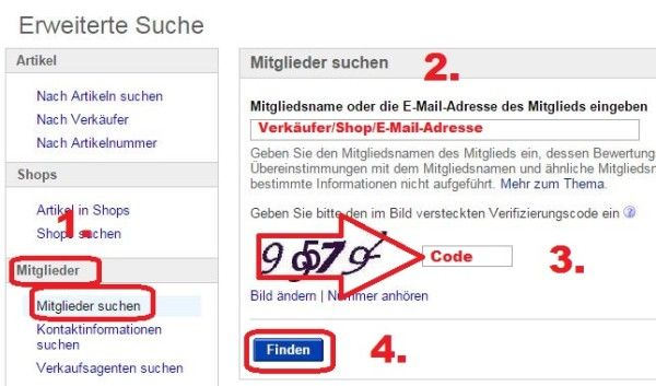 eBay Postzegels instructies