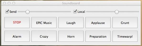 Teamspeak plugin Soundboard