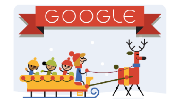 Google Doodle Merry Christmas