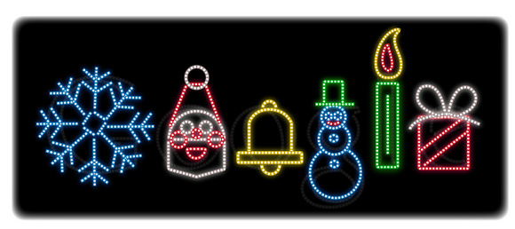 Google Doodle Merry Christmas 2011