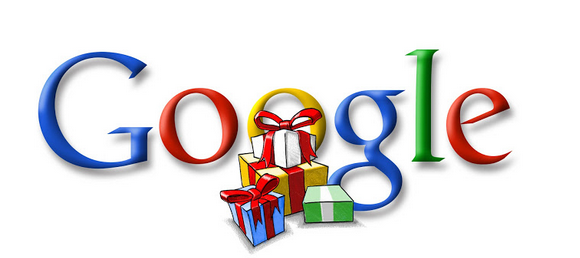 Google Doodle Merry Christmas 2002