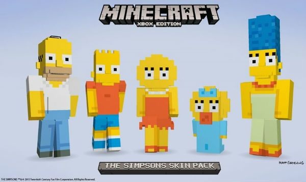 Minecraft Simpsons Mod