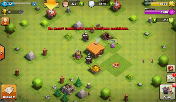 best mobile games I / 2015 Clash of Clans