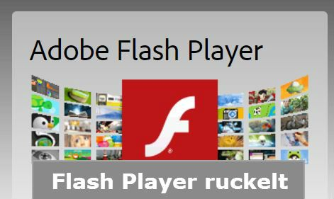 cecina de Flash Player