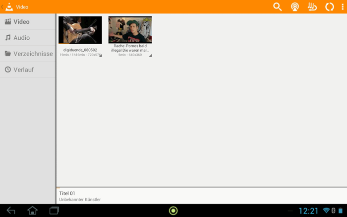 VLC giocatore Android