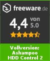 Volledige versie: Ashampoo HDD Control 2 Download Editor's Rating