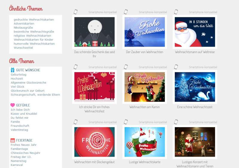 Kerstkaarten Download