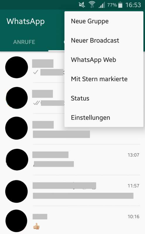 Create WhatsApp broadcast