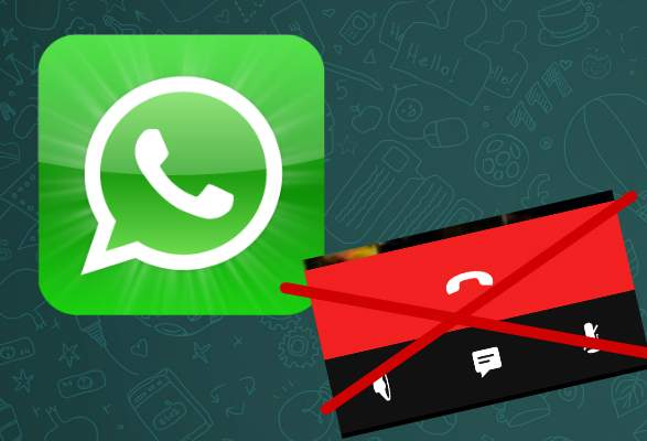 disabilitare WhatsApp Chiamata