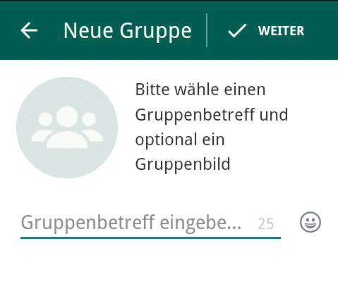 Whats App Gruppe