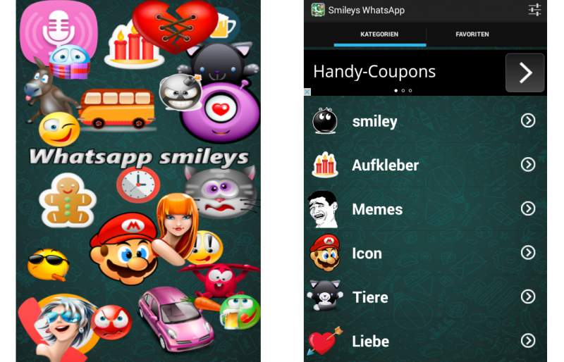WhatsApp Smileys Android