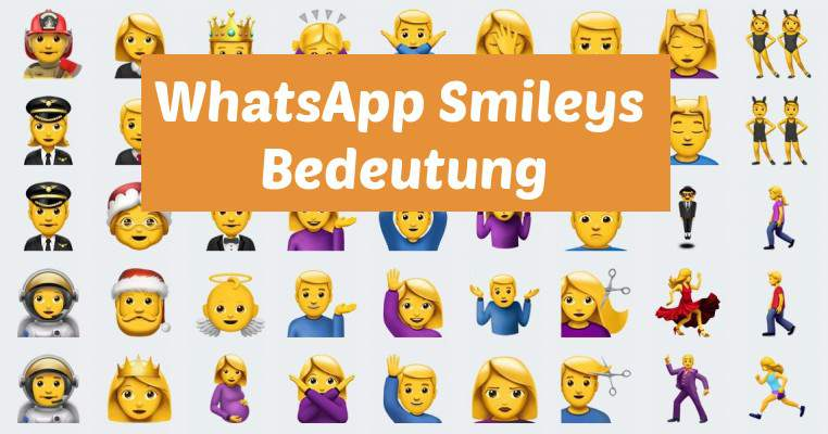 WhatsApp Smileys Meaning