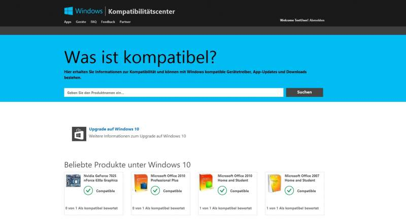 Windows 10 Compatibility Center Download