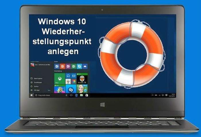 Windows 10 Punto de restauración