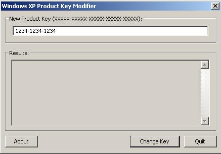 windows xp change key command line