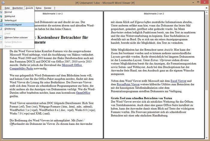 microsoft word viewer download free 2007