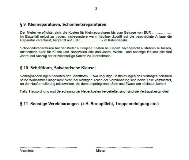 Word-sjabloon lease appartement Download Bewerken