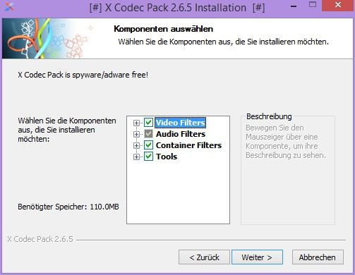 X Codec Pack Download
