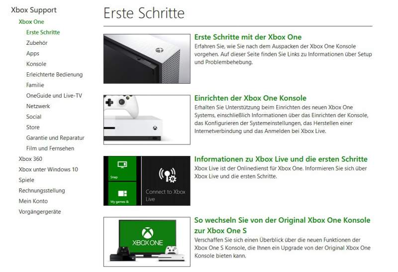 Xbox One manual Download Getting Started