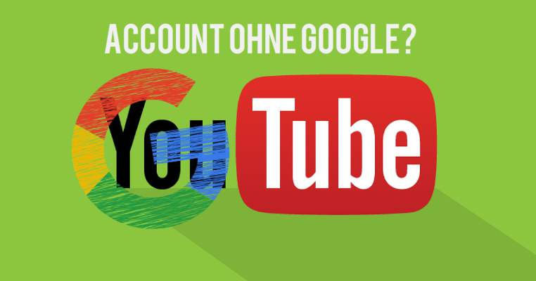 Create YouTube account without Google