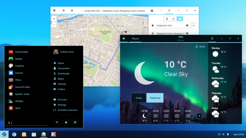 Zorin OS 12 download tools